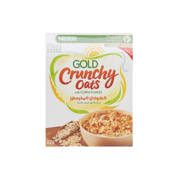 Nestle Crunchy Oats With Corn Flakes 420