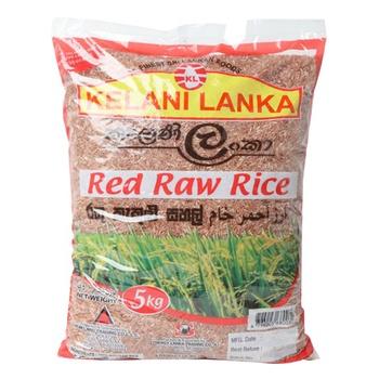 Kelani Lanka Red Raw Rice 5kg