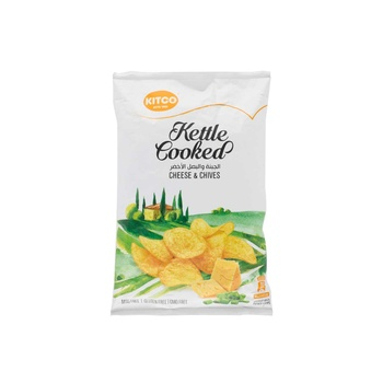 Kettle Cooked Potato Cheese & Chives 150g