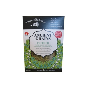 Thistle Be Good Ancient Grains - Freekeh With Green Lentils Almonds And Pine Nuts 240g