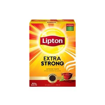 Lipton Tea Bag Extra Strong Black Tea 200g