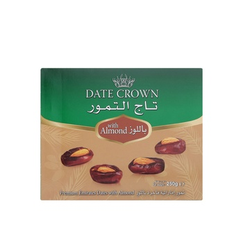 Date Crown With Almond 250g