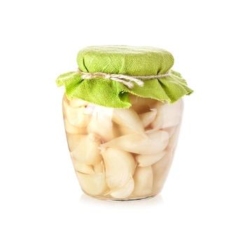 Dhafer Garlic In Soft Vinegar