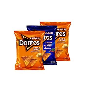 Doritos Assorted 180g Pack Of 3