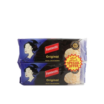 Fantastic Rice Cracker Orginal 2 x 100g