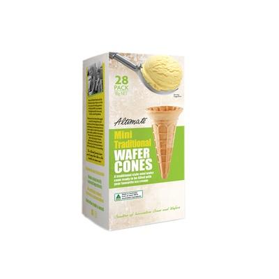 Altimate Mini Traditional Wafer Cones 38g