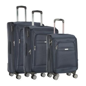 Voyager Trolley Bag 3P Set Blue