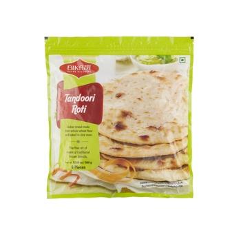 Bikaji Tandoori Roti 360g