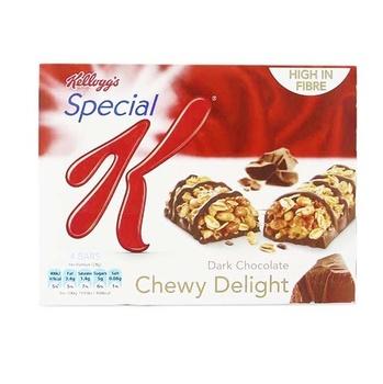 Kelloggs Special K Dark Chocolate Chewy Deli Bars 24g