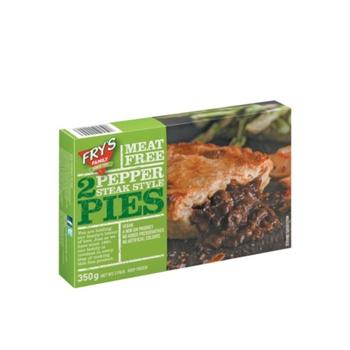 Fry'S Pepper Steak Style Pie 350g