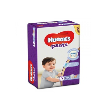 Huggies pants diapers, size 5, 12-17 kg, 34 count @ 20% off