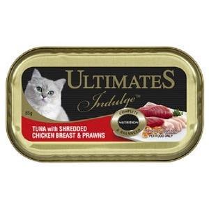 Ultimate Indulge Tuna with Shredded Chicken Breast & Prawns 85g