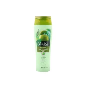 Dabur Vatika Nourishing & Protect Shampoo Olive Henna Aloe Vera Almond For Normal Hair 200ml