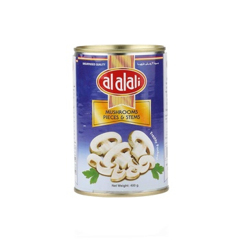 Al Alali Mushrooms Pieces & Stems 400g