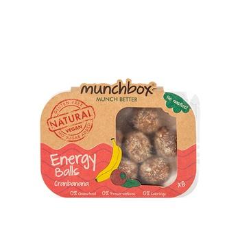 Munc Box Cranbanana Energy Balls