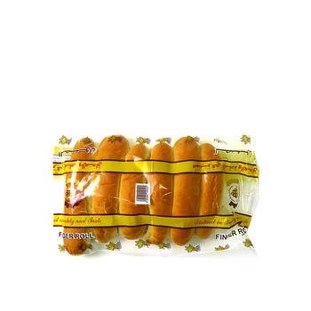 Golden Loaf Finger Bread Rolls 1 X 6