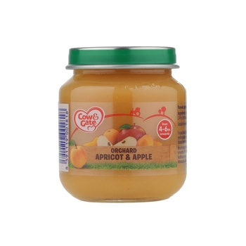 Cow & Gate Orchard Aprct & Apple 125g