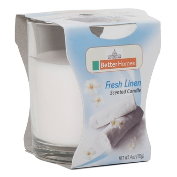 Better Homes Fresh Linen Candles 4Oz