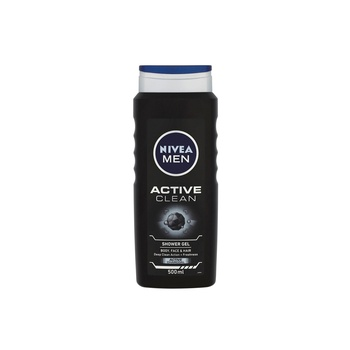Nivea Men Active Clean Shower Gel 500 ml @ 20% Off