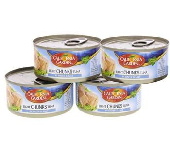 California Garden Light Tuna In Water 170g Pack of 4
