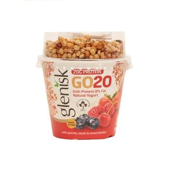 Glenisk Go20 Fruit & Seed Granola 170G