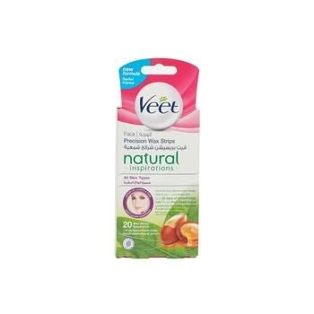 Veet Natural Face Wax Strips 20s