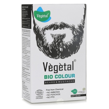 Vegetal Beard & Mustache Soft Black