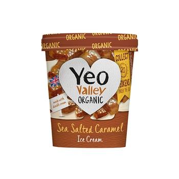Yeo Valley Ice Salted Caramel 500ml