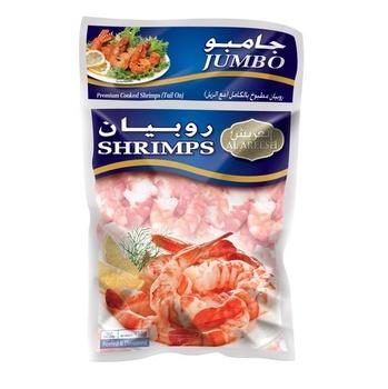 Al Areesh Jumbo Shrimps Tail On 454g