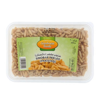 Goodness Foods Sinobar Peeled -Pak (B) 200 g