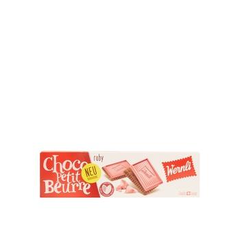 Wernli Choco Petit Beurre Ruby 125g