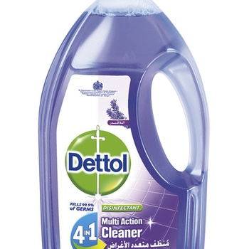 Dettol Disinfectant 4 In 1 Lavender Fragrant Multi Action Cleaner 900ml