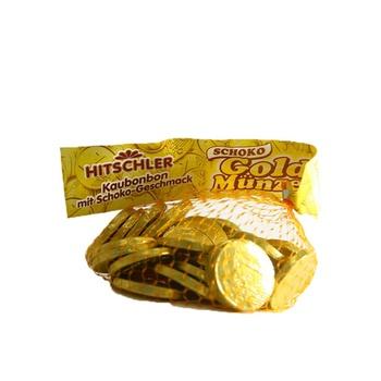 Hitschler Candy Coins Golden 150g