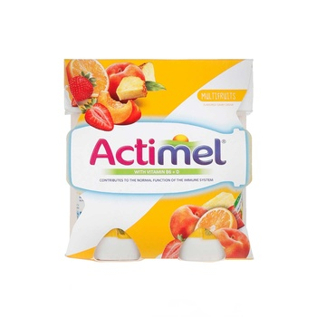 Actimel Multi Fruit Dairy Drink Multi Pack 4 X 93 ml