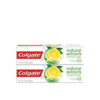 Colgate Toothpaste Naturals Lemon 75ml Pack Of 2