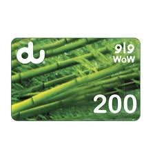 Du Mobile Recharge Card 200 AED