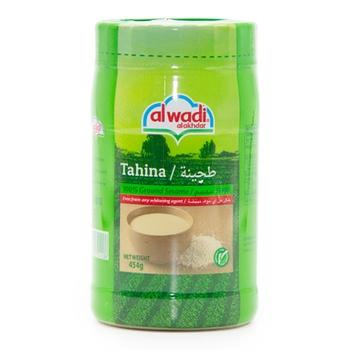 Al Wadi Tahina Plastic Jar 454g