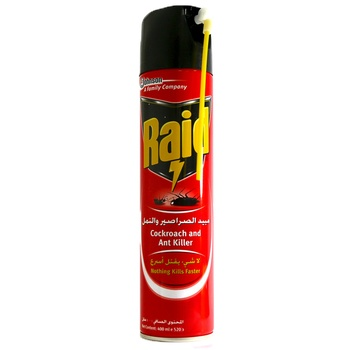 Johnson Raid Cockroach & Ant Killer 400ml