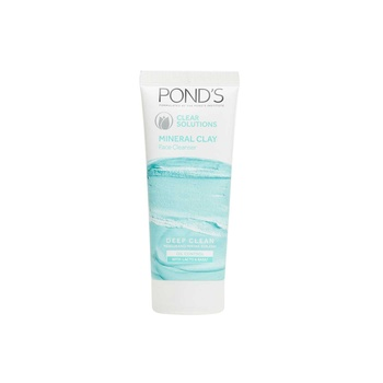 Ponds Clear Solutions Mineral Clay Face Cleaner Daily Scrub with Lacto & Basil 90g