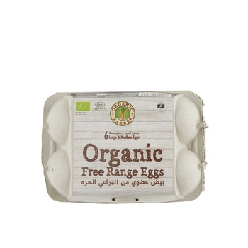Organic Larder Organic Eggs 6Pcs