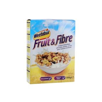 Weetabix Cereal Fruit & Fiber 500g