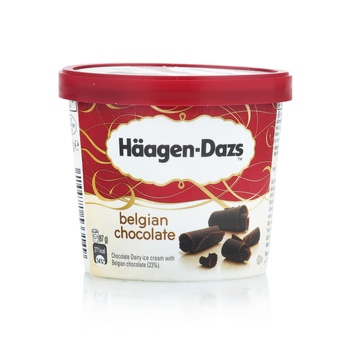 Haagen Dazs Belgian Chocolate Ice Cream 100ml