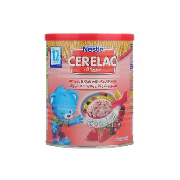 Cerelac Wheat & Oat With Red Fruit 400g