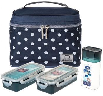 Lock & Lock Lunch Box 3 Pcs Set