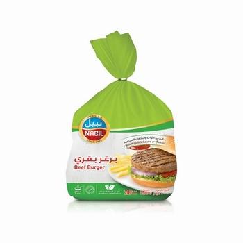NABIL Frozen Beef Burger 1kg