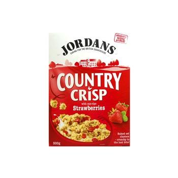 Jordans Cereal County Crisp Strawberries 500g