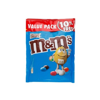 M&M's Crispy Chocolate 280g (Pouch)
