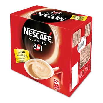 Nescafe 3 in 1 Box 30x20gm @ 10% Off