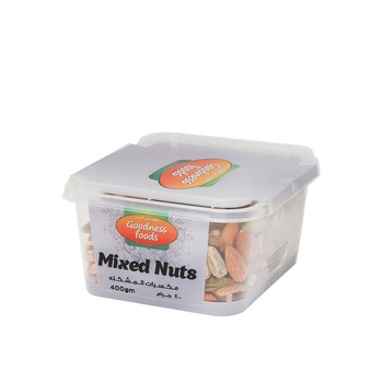 Goodness Foods Mixed Nuts 400g