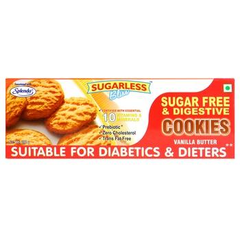 Splenda Sugar Free & Digestive Cookies Vanilla & Butter 200g